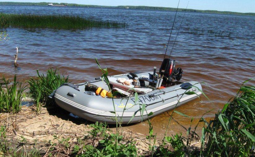 Первая лодка.