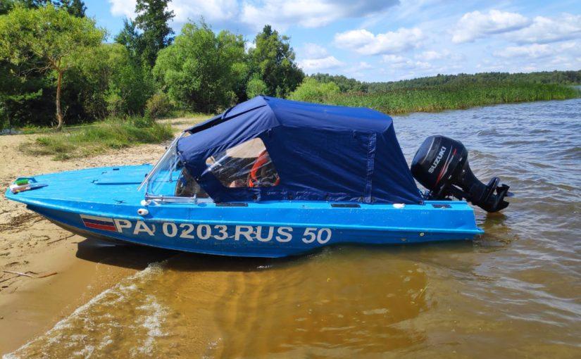 [Продано] Продажа лодки Казанка 5м4 + Suzuki DF50