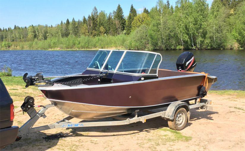 Подготовка лодки — Проект №7 — Windboat EVO 4.6